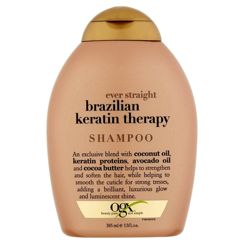 ogx brazilian keratin therapy shampoo 385ml